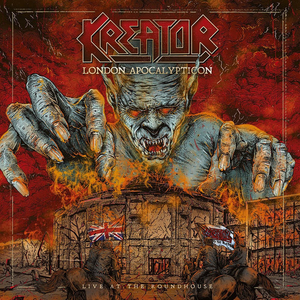 KREATOR - London Apocalypticon Live At the Roundhouse CD-Digi + Blu-ray