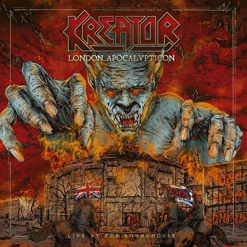 KREATOR - London Apocalypticon Live At the Roundhouse 2LP