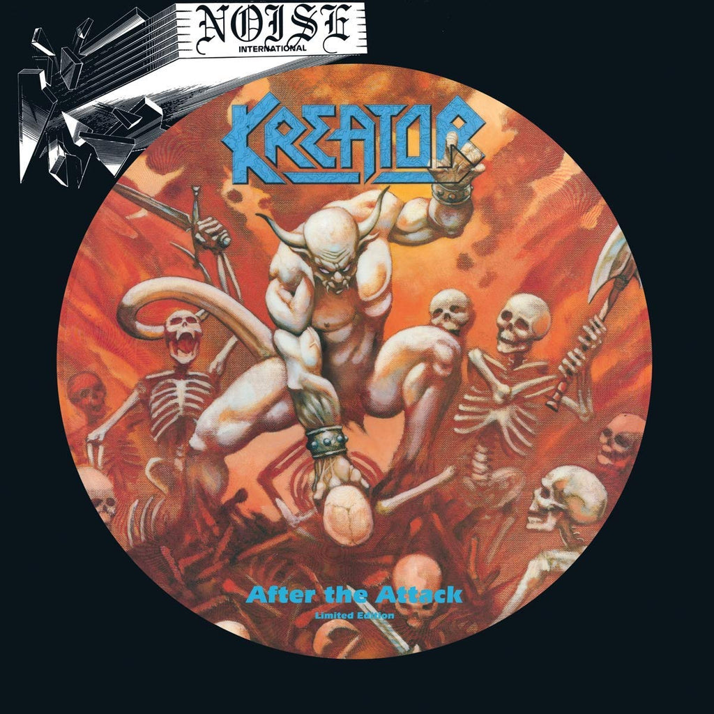 KREATOR - After The Attack PICTURE DISC LP