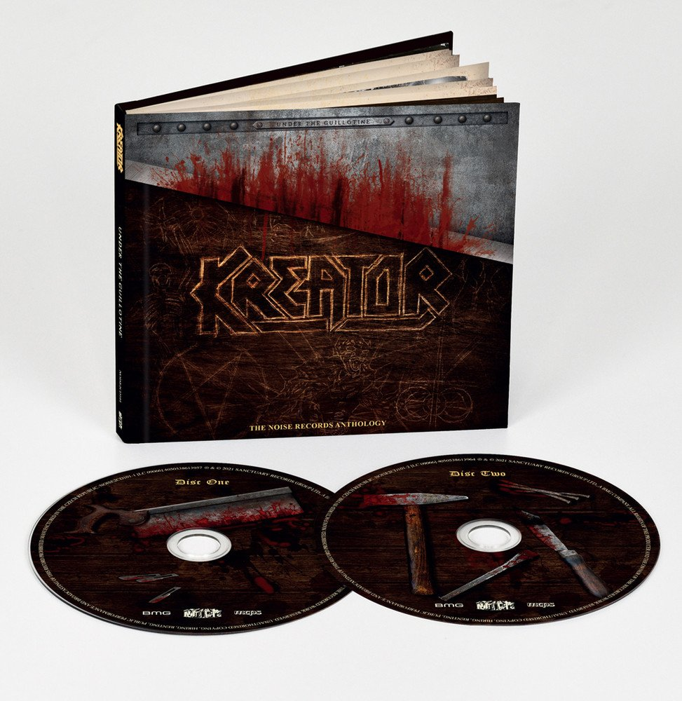 KREATOR - Under the guillotine - The Noise Records anthology 2CD (PREORDER)