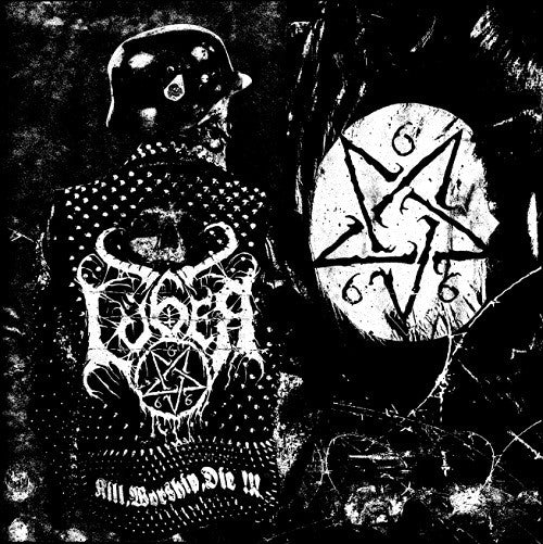 LÜGER - Kill, worship, die LP