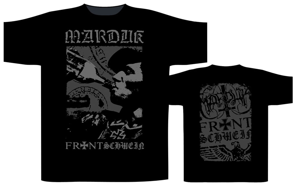 MARDUK - Frontschwein Bottle T-SHIRT