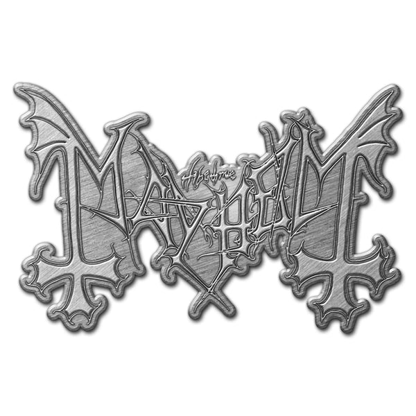 MAYHEM - Logo METAL PIN