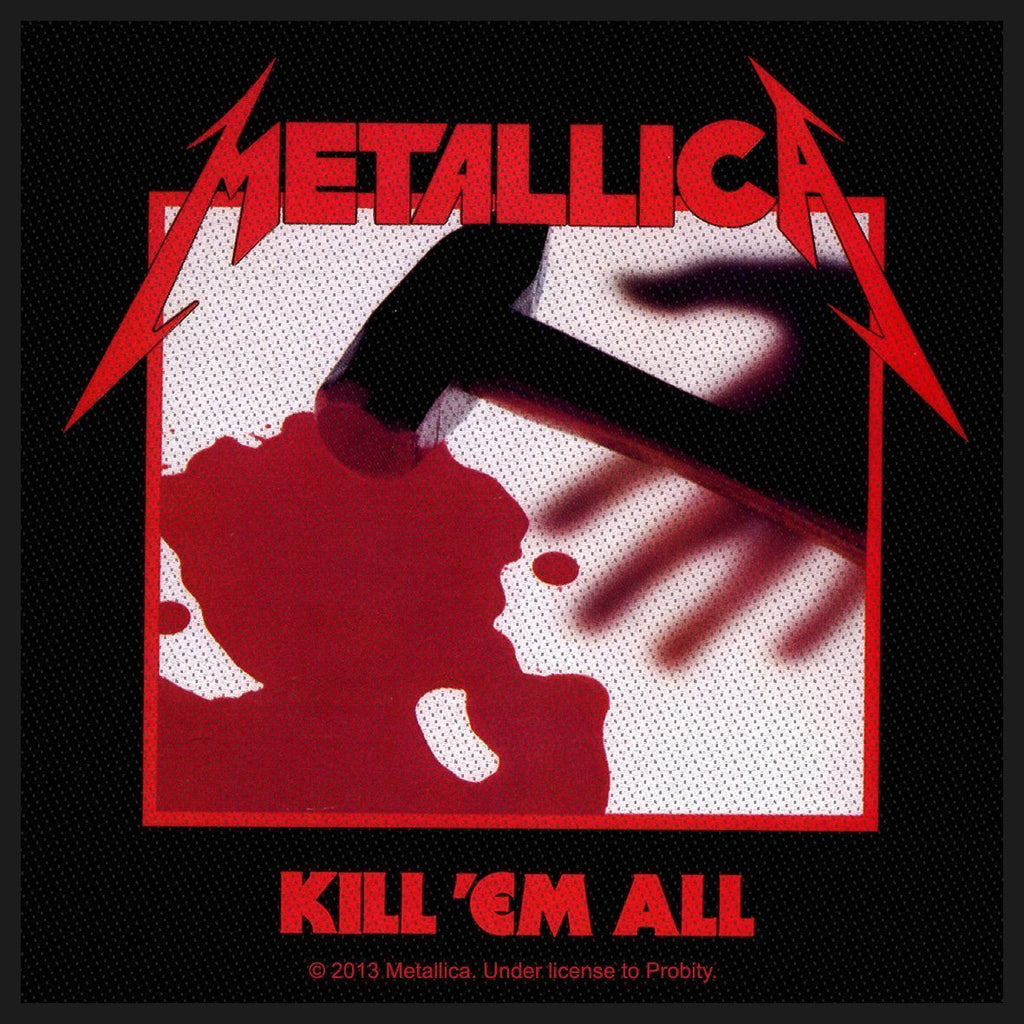 METALLICA - Kill 'Em All PATCH