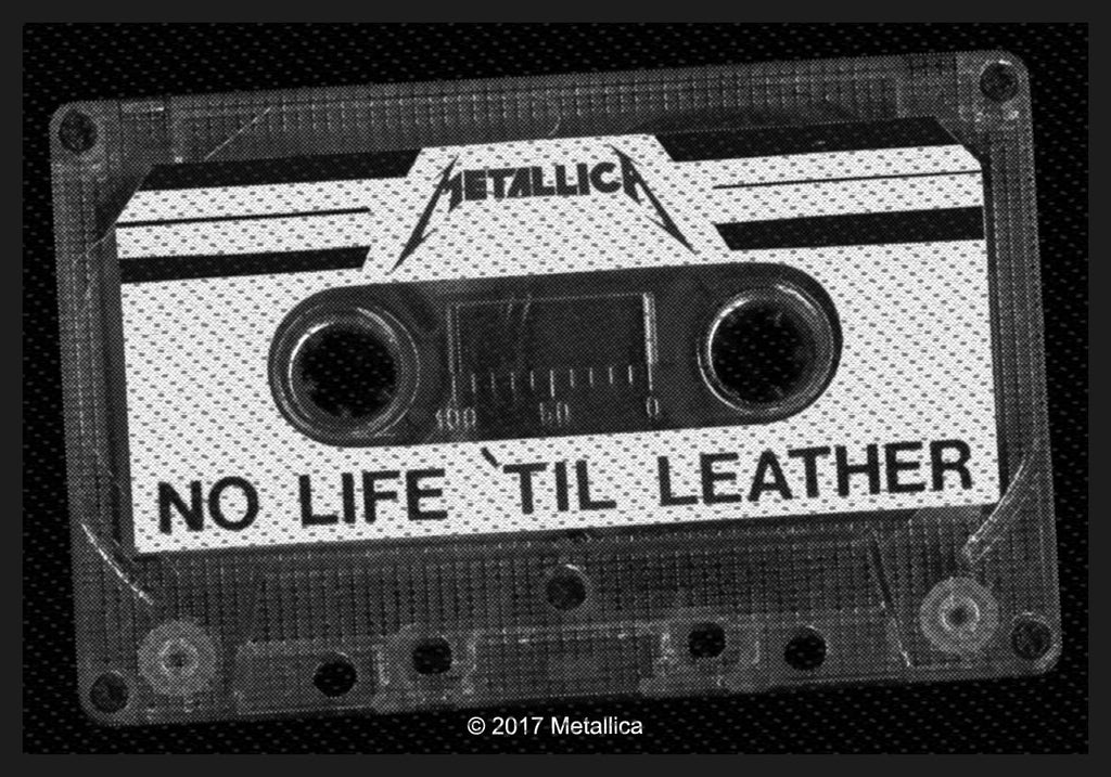 METALLICA - No Life 'Til Leather PATCH