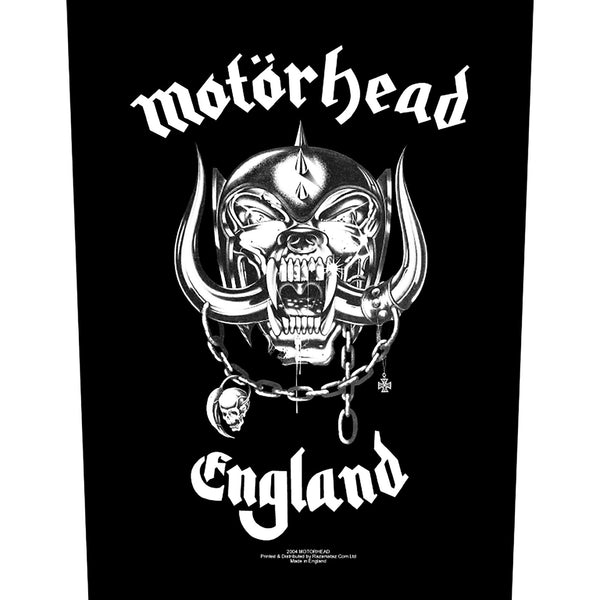 MOTÖRHEAD - England BACKPATCH