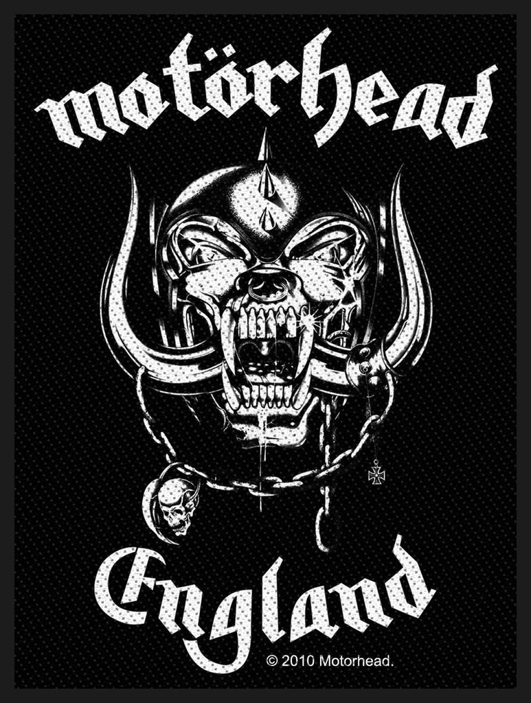MOTÖRHEAD - England PATCH