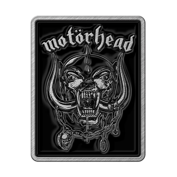 MOTÖRHEAD - Logo & Warpig METAL PIN