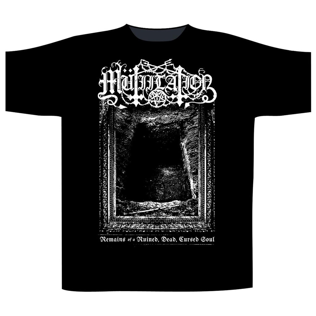 MUTIILATION - Remains Of A Cursed Soul T-SHIRT