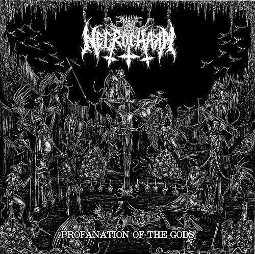 NECROCHAKAL  - Profanation of the gods LP