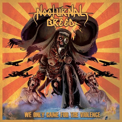 NOCTURNAL BREED - We only came for the violence A5 DIGI CD