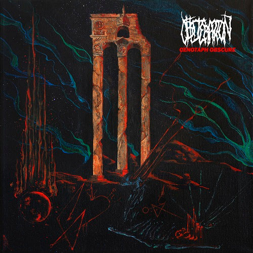 OBLITERATION - Cenotaph Obscure LP (BLACK)