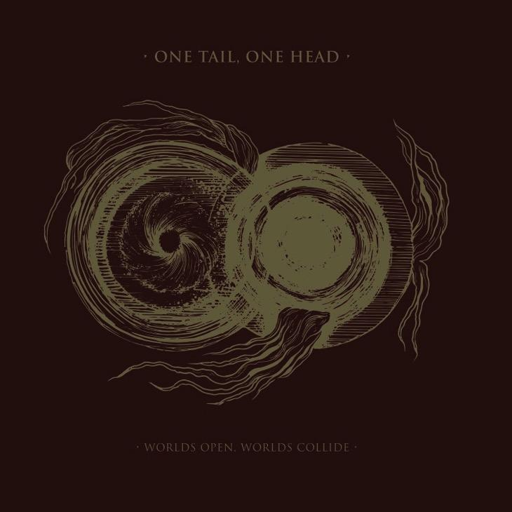 ONE TAIL ONE HEAD - Worlds Open, Worlds Collide LP (BLACK)