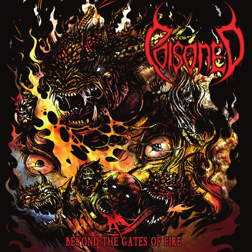 "POISONED ""Beyond the gates of fire"" CD"