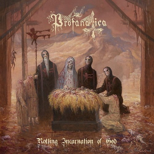 PROFANATICA - Rotting incarnation of god LP