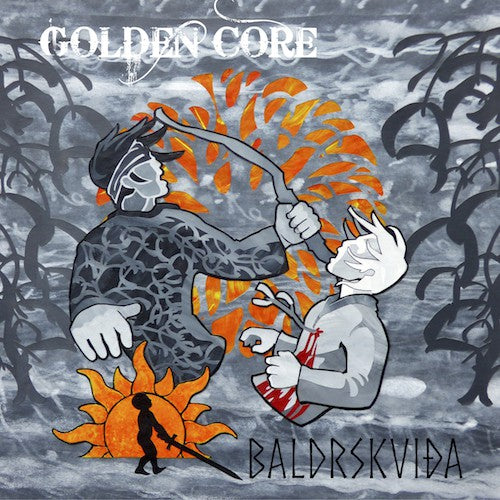 GOLDEN CORE - ᛒᛅᛚᛏᚱᛋᚴᚢᛁᚦᛅ (Baldrskviða) CD single