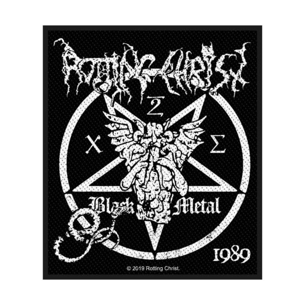 ROTTING CHRIST - Black Metal PATCH