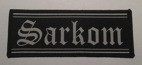 SARKOM - logo PATCH
