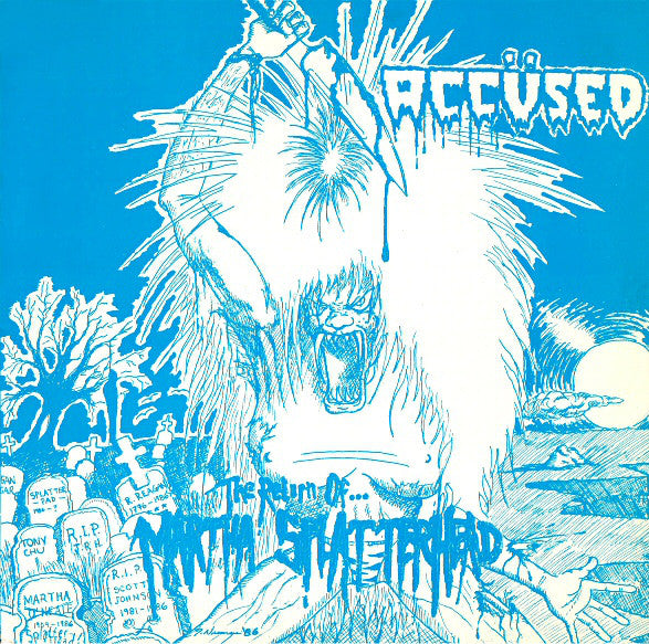 THE ÄCCUSED - The Return of Martha Splatterhead LP