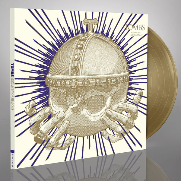 TOMBS ‎– Monarchy Of Shadows LP (GOLD)