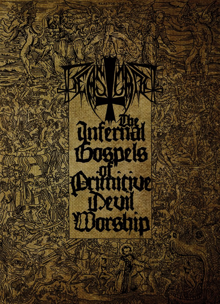 BEASTCRAFT - The Infernal Gospels Of Primitive Devil Worship A5 Digibook CD + DVD
