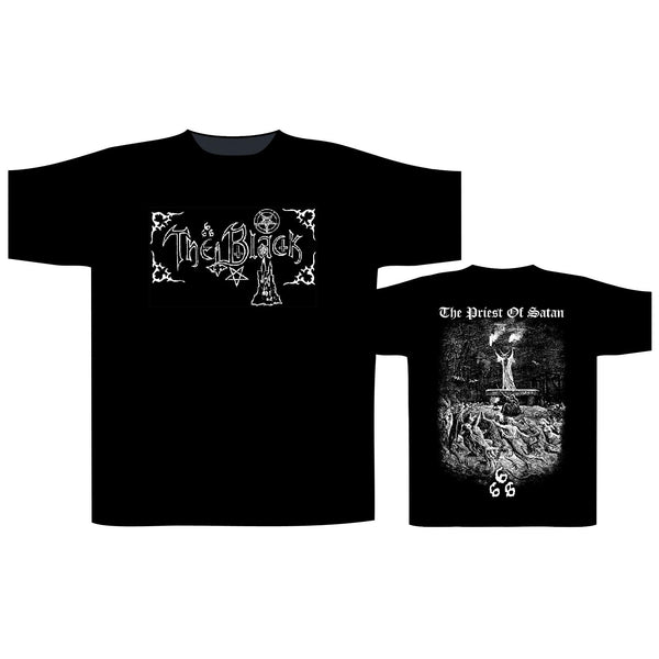THE BLACK -The Priest Of Satan T-SHIRT