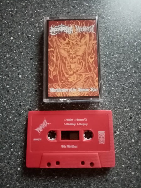 UNPROCREATION / MORTIFERUZ - Mortification Of The Human Race TAPE