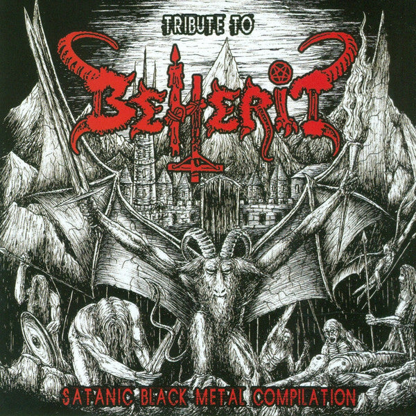 VARIOUS ARTISTS - Tribute To Beherit - Satanic Black Metal Compilation LP