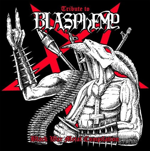 VARIOUS ARTISTS - Tribute To Blasphemy - Black War Metal Compilation LP
