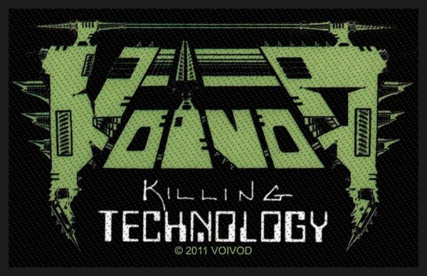 VOIVOD - Killing Technology PATCH