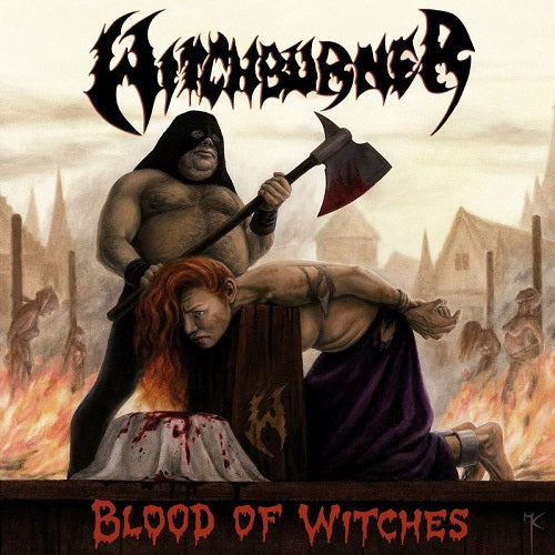WITCHBURNER - Blood of witches CD