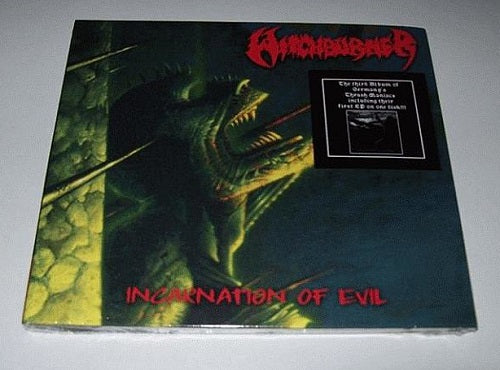 WITCHBURNER - Incarnation of evil CD