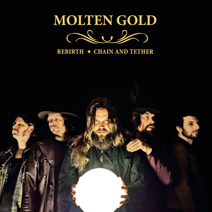 "MOLTEN GOLD - Rebirth / Chain and Tether 7"" EP"