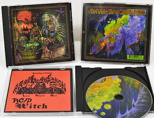 ACID WITCH - Witchtanic Hellucinations CD*