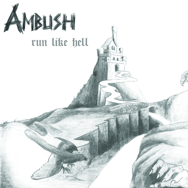 AMBUSH - Run Like Hell CD*