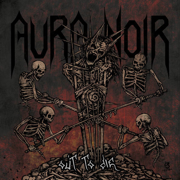 AURA NOIR - Out To Die LP