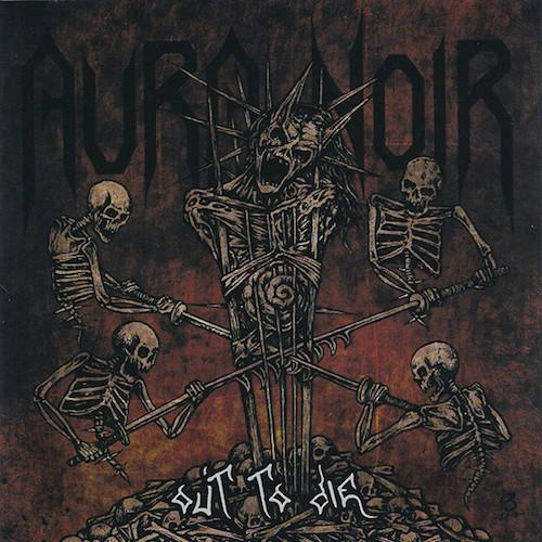 AURA NOIR - Out To Die (RED/ ORANGE) LP