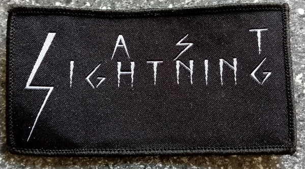 LAST LIGHTNING - Logo PATCH
