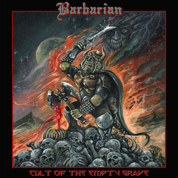 BARBARIAN - Cult Of The Empty Grave CD