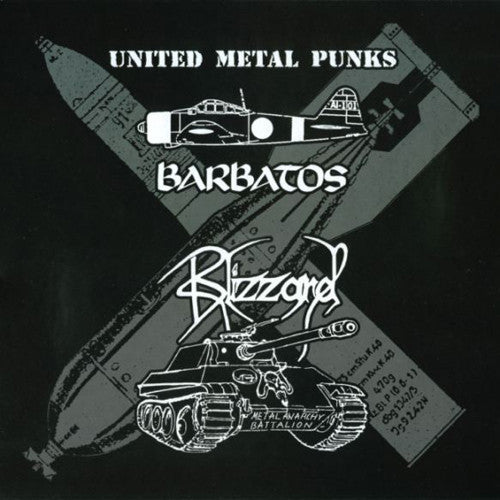 "BARBATOS / BLIZZARD - United Metal Punks 10""EP"