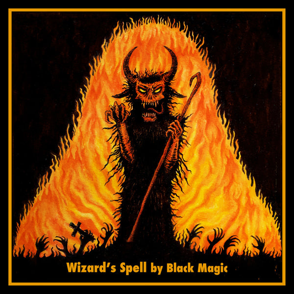 BLACK MAGIC - Wizard's Spell LP