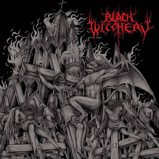 BLACK WITCHERY - Inferno Of Sacred Destruction LP