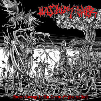 BLASPHEMOPHAGHER - Atomic Carnage In The Temple Of Nuclear Hell CD*