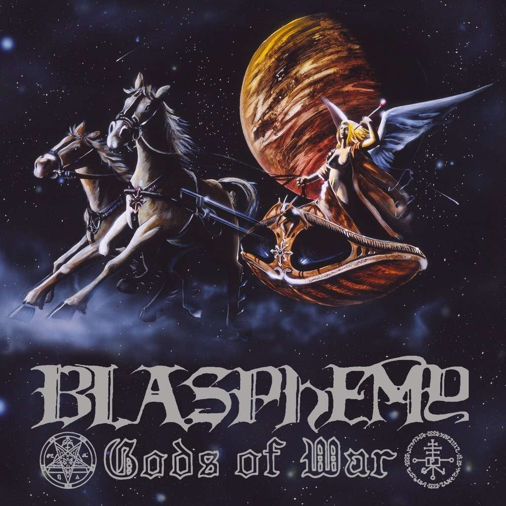 BLASPHEMY - Gods Of War CD*