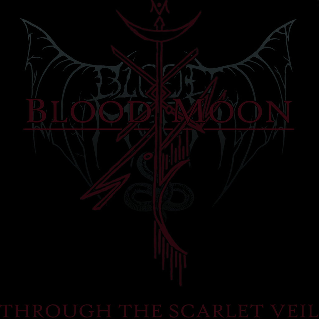 BLOOD MOON - Through The Scarlet Veil 2LP