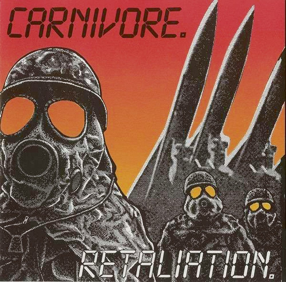 CARNIVORE - Retaliation 2-LP (Bone color)