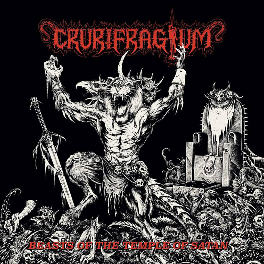 CRURIFRAGIUM - Beasts Of The Temple Of Satan LP
