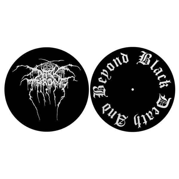 DARKTHRONE - Black Death and beyond TURNTABLE SLIPMATS