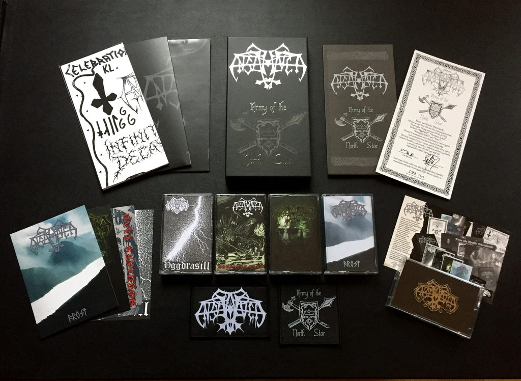 ENSLAVED – Army Of The North Star TAPE BOX (PREORDER)