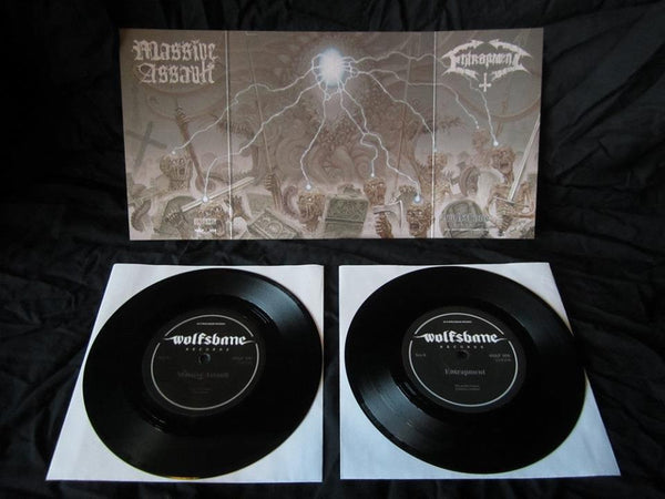 ENTRAPMENT/ MASSIVE ASSAULT SPLIT 7''EP